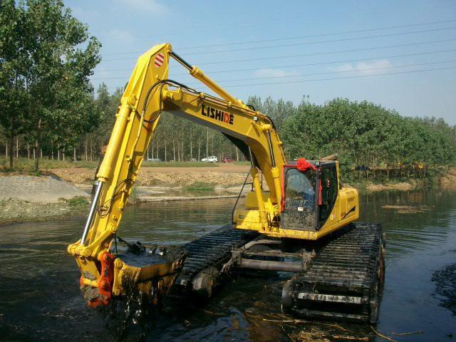 杭州水陆两栖挖掘机出租