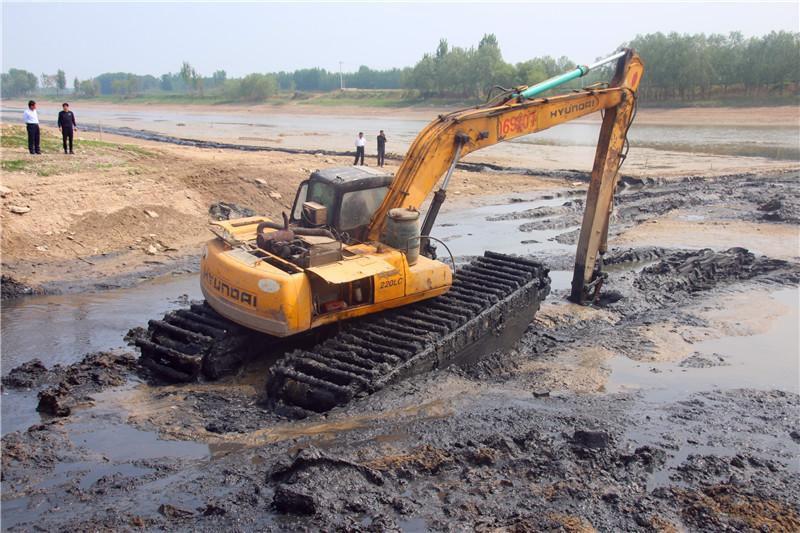 水陆两栖挖掘机出租租赁服务