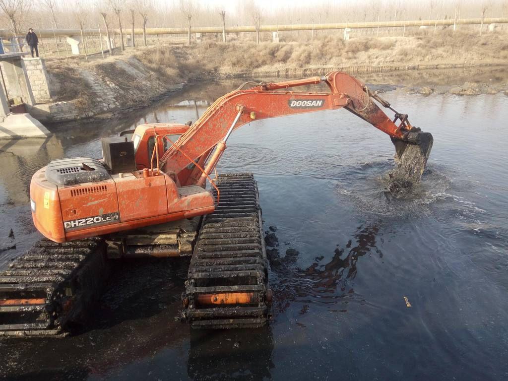 巴彦淖尔水陆两栖挖掘机出租