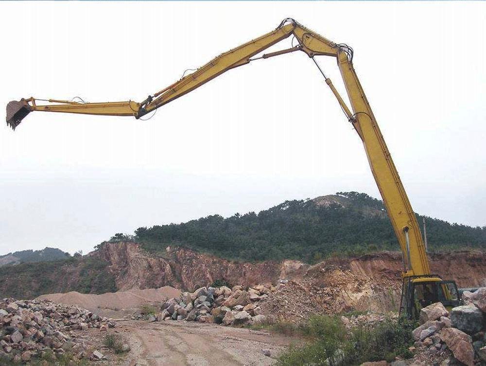兴平18米~30米加长臂挖掘机出租